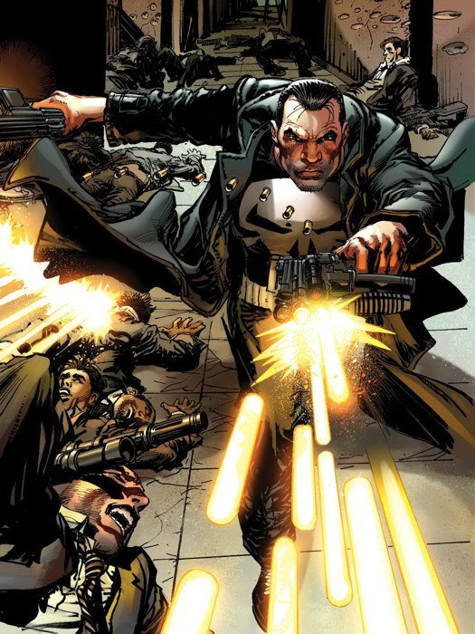 Punisher Frank Castle Marvel Comics Art 32x24 Print Poster