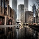 Chicago Illinois USA Cityscape 32x24 Print Poster