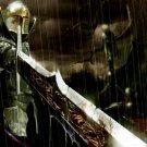 Knight Warrior Sword Fantasy Art 32x24 Print Poster