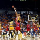 Kareem Abdul Jabbar Lakers Retro NBA 32x24 Print Poster