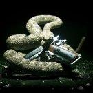 Hitman Absolution Snake Pistol Video Game 32x24 Print Poster