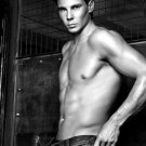 Rafael Nadal Rafa Hot Body Tennis BW 16x12 Print POSTER