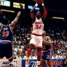 Hakeem Olajuwon Houston Legend NBA 16x12 Print POSTER