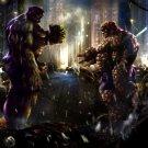 Hulk Vs The Thing Marvel Comics Art 16x12 Print POSTER