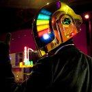Daft Punk Helmet Music Cool 16x12 Print POSTER