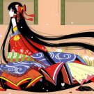 Touhou Anime Art Japanese Girl 16x12 Print POSTER