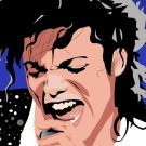 Michael Jackson Portrait Art Music 16x12 Print POSTER