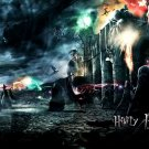 Harry Potter And The Deathly Hallows Battle 16x12 Print POSTER