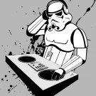 Stormtrooper DJ Turntables Star Wars Cool 16x12 Print POSTER