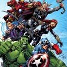 The Avengers Marvel Comics Art 2012 Movie 16x12 Print POSTER