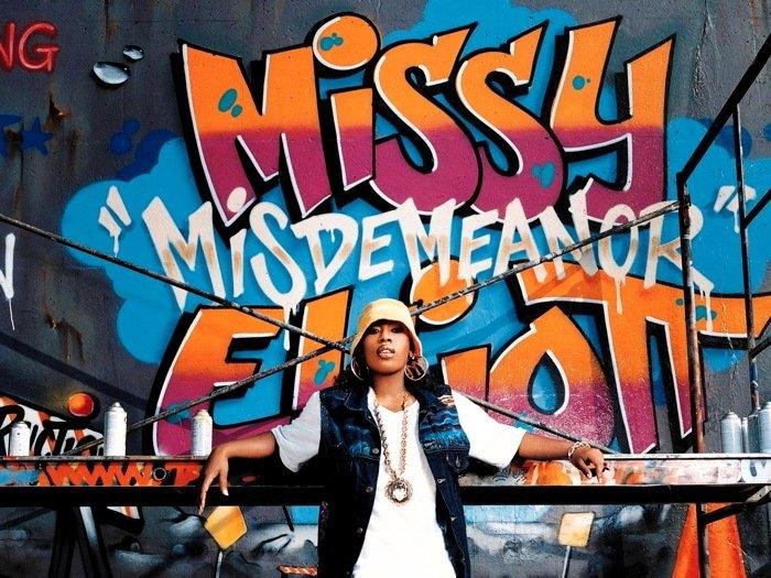 Missy Elliott Graffiti Hip Hop R B Music 16x12 Print POSTER