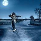 Michael Jackson Moon Road Music 16x12 Print POSTER