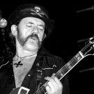 Lemmy Kilmister Motorhead BW Music 16x12 Print POSTER