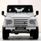 Startech Land Rover Defender Front Car 16x12 Print POSTER