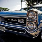 Pontiac GTO Shiny Muscle Car 16x12 Print POSTER