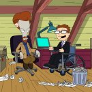 Wheels And The Legman American Dad TV Series 16x12 Print POSTER