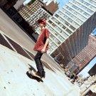 Skater Boy City Street Tilt Cool 16x12 Print POSTER