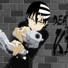 Death The Kid Soul Eater Anime Manga Art 16x12 Print POSTER