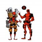 Marvel Comics Spider Man Deadpool Cool Art 16x12 Print POSTER