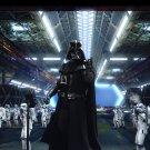 Darth Vader Stormtroopers Star Wars Art Sci Fi 16x12 Print POSTER