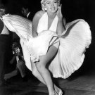 Marilyn Monroe Skirt Blowing Hot BW 16x12 Print POSTER
