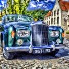 Rolls Royce Painting Car Art 16x12 Print POSTER