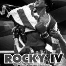 Rocky IV 4 Movie Sylvester Stallone BW 16x12 Print POSTER