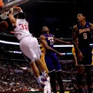 Blake Griffin Dunk Los Angeles Clippers NBA Basketball 16x12 POSTER