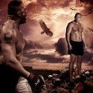 Fedor Emelianenko Vs Brock Lesnar MMA Mixed Martial Arts 16x12 POSTER