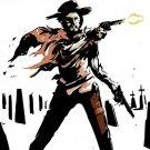 Clint Eastwood Guns Spaghetti Western Art Legendary Actor 16x12 POSTER