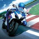 Suzuki GSX R Sport Race Bike Motorcycle 16x12 POSTER