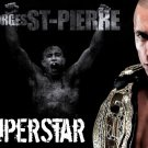 Georges St Pierre GSP Superstar MMA Mixed Martial Arts 16x12 POSTER