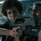 Ellen Ripley M41 A Pulse Rifle Aliens Sigourney Weaver 16x12 POSTER