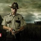 The Walking Dead Andrew Lincoln Revolver Rick Grimes TV 16x12 POSTER