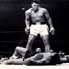 Muhammad Ali Vs Sonny Liston BW Boxing Sport 16x12 POSTER