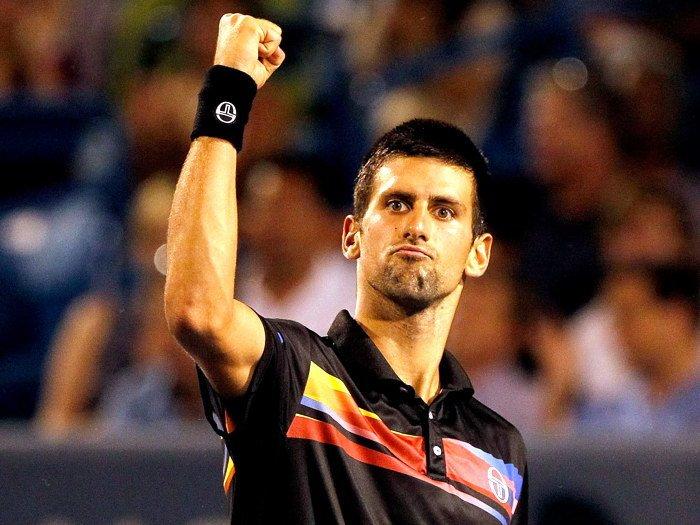 Novak Djokovic ATP Tennis Sport 16x12 Print POSTER