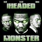 Three Headed Monster Dre Eminem 50 Cent 16x12 Print POSTER
