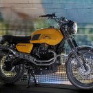 MotoGuzzi V7 Scrambler Concept Bike 16x12 Print POSTER