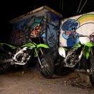 Kawasaki KX 250F Motocross Bike 16x12 Print POSTER