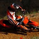 KTM 250 SX F Motocross Bike Motorcycle 16x12 Print POSTER