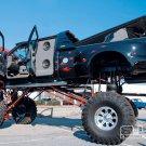 Black Monster Truck Bigfoot Car 16x12 Print POSTER