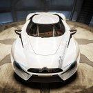 Citroen GT Front Future Concept Car 16x12 Print POSTER