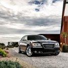 Chrysler Black Future Concept Car 16x12 Print POSTER
