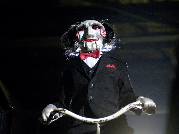 Saw Jigsaw Mask Scary Movie 16x12 Print Poster