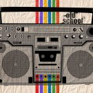 Old School Tape Recorder Cool Art Style 16x12 Print POSTER