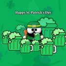 Happy St Patrick S Day Beer Holiday 16x12 Print POSTER