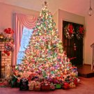 Christmas Ornaments Fir Tree Home 16x12 Print POSTER