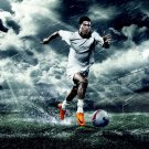 Cristiano Ronaldo Soccer Football 16x12 Print Poster