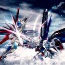 CLASH Of The TITANS Gundam Anime 16x12 Print Poster