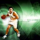 Wally Szczerbiak Boston Celtics NBA 16x12 Print Poster